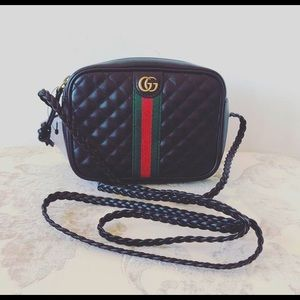 Gucci Black Mini Trapuntata